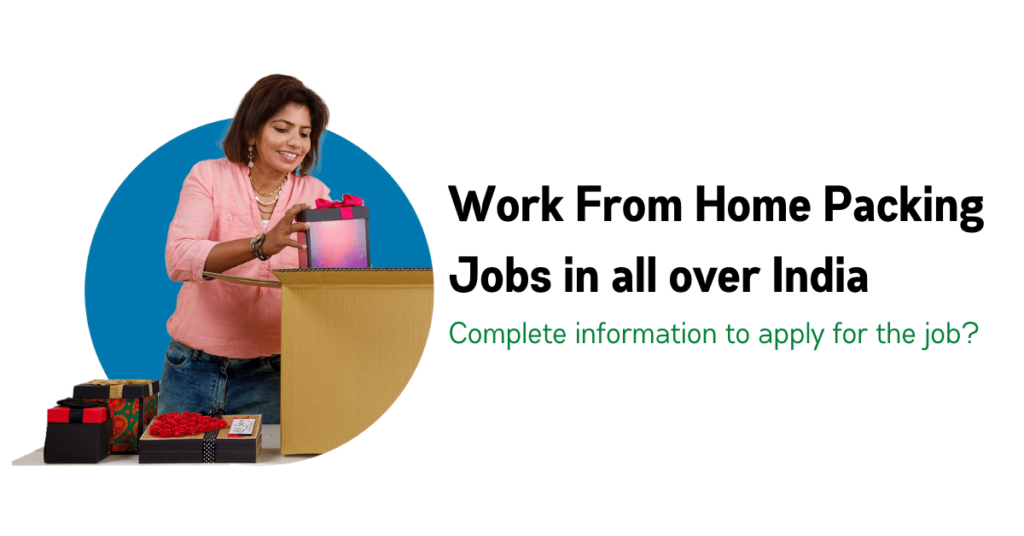Packing jobs from home  || Best knowledge 2021